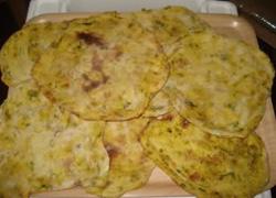 الخبز العربي بالمكسرات