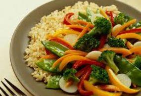 ارز الملفوف بالخضار