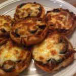 بيتزا بخبز الهمبرغر