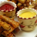 البطاطا الحلوة المقرمشة