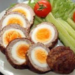 طبق البيض اسكوتلندي