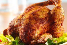 دجاج مشوي بالتتبيلة الهندية