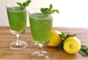 طريقة عمل عصير الليمون بالنعنع