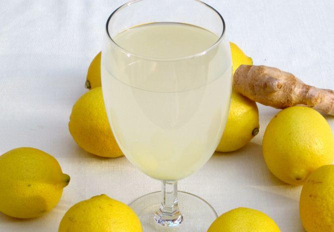 طريقةعمل الليمون مع الزنجبيل