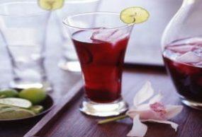 عصير الكركديه والحمضيات
