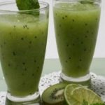 عصير الكيوي والليمون