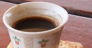 إعداد القهوة السادة