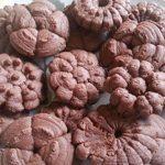 إعداد البسكويت بالشوكولاتة