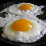 قلي البيض بالطريقة المغربية