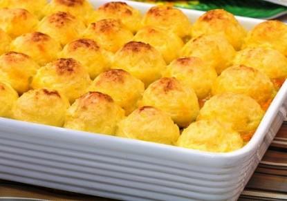 كرات البطاطس المهروسة